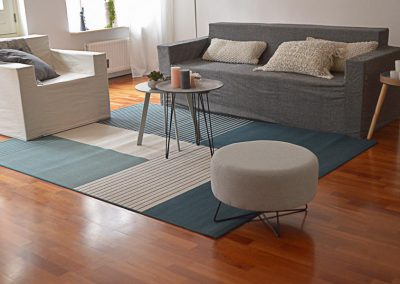 Leegstaande woning ingericht met Cubiqz meubels en woonaccessoires